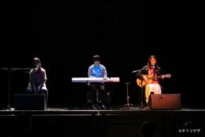 ライブホールのキャンパスツアーではミニライブで歓迎!
