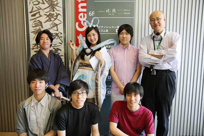 ゲーム制作サークルのメンバー