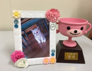 猫かわいい部門優勝作品
