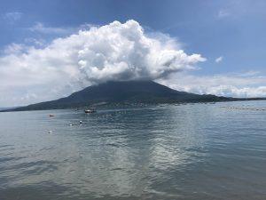 第15回桜島錦江湾横断遠泳完泳しました!