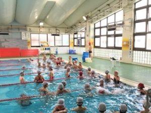 遠泳第1検定と着衣水泳のお知らせ