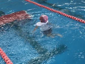 着衣水泳(水上安全教室)